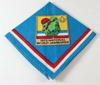 Vtg 1973 National Scout Jamboree Virginia Boy Scout America BSA Neckerchief A