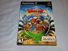 Dragon Quest VIII Journey of the cursed King box set us NTSC Sony PlayStation 2