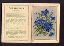 Kensitas silk flower Medium CORNFLOWER folder C