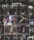 STAR WARS LUKE SKYWALKER HAN SOLO REPUBLIQUE DU TCHAD 2015 MNH STAMP SHEETLET