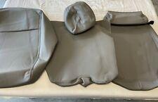 2015-2019 Ford F-150 Front row Jump seat Skin Leather Gray