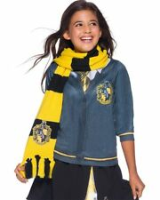 Deluxe Hufflepuff Scarf Harry Potter Costume Accessory One Size