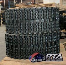 Two Rubber Tracks For Kubota Svl90 Svl90 2 Svl95 Svl95 2 450x86x58 Zig Zag Tread