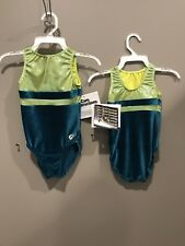 New With Tags Childs Small 6-7 Tank Gym Kin Elite Sports Wear Leotard Cool