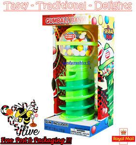 Gumball Vending Machine Gum Dispenser Toy Fun 80g Bubble Gum Included