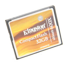 Kingston Ultimate 600x 32GB CF COMPACT FLASH MEMORY CARD