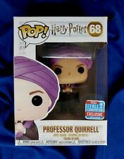 Funko Pop! Harry Potter PROFESSOR QUIRREL w/Removable Hat 2018 NYCC EXCLUSIVE