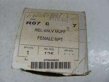 Allied Witan model R07 relief valve muffler new