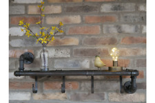 Clearance Industrial Pipework Pipe Wall Shelf Storage Kitchen shelving Holder