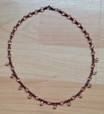 Handmade Ladies Pink Bead Necklace