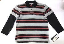 Abbigliamento neri con colletto per bambini dai 2 ai 16 anni 100% Cotone