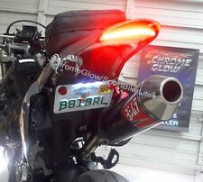 Suzuki DR-Z400 SS Integrated LED Light Bar Fender Eliminator; Clear Lens