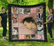 Harry Styles Quilt, Fleece Blanket Print In USA