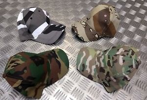 100% Cotton ARMY Children's Assorted Camouflage Baseball Hat / Cap - Brand NEW