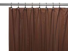 Brand New Solid Brown Water Repellent Bathroom Shower Curtain Liner Vinyl