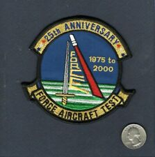 FORCE AIRCRAFT TEST 25th ANNIVERSARY US NAVY Squadron Jacket Patch