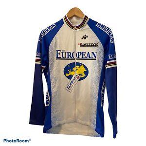 Assos The European Switzerland Made Long Sleeve Cycling Jersey Jacket Size XL