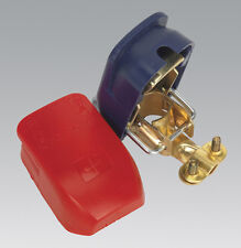 Sealey BTQK12 Quick Release Battery Clamps Positive-Negative Pair