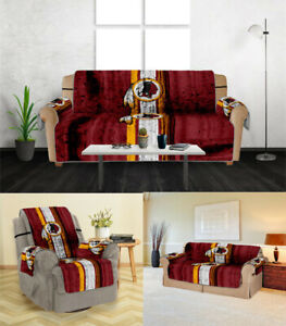 Washington Redskins Sofa Cover 1 2 3 Seater Couch Protector Loveseat Slipcover