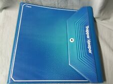 Mead Trapper Keeper 3 Ring Binder Notebook System~Blue