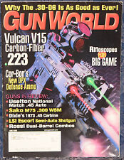 Magazine GUN WORLD  March 2005 !!! LSI ESCORT SEMI-AUTO SHOTGUN, Turkey !!!