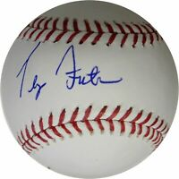 Terry Forster Hand Signed Autographed Major League Baseball Los Angeles Dodgers