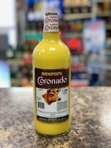 Rompope Coronado 1 liter, Mexican Egg Nog Free Shipping