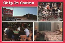 Chip-In Casino on Highway US 2 and 41 west of Escanaba, Michigan MI --- Postcard