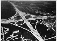 Alemania, vista de una autopista de Francfort Vintage  Tirage argentique  18