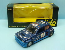 MI062 SOLIDO / FRANCE / 1023 RENAULT 5 TURBO TOUR DE CORSE GITANES N°18 1/43