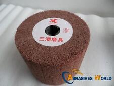 120mm X 100mm Drum Non-Woven Abrasive Polishing Wheel (Cylinder buffing wheel)