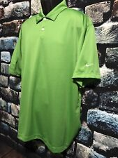 Nike Golf Dri-FIT Green Polo shirt size XL Todd Stephens Logo