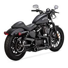 Vance & Hines 2-1 Competition Schwarz, für Harley - Davidson Sportster 04-20