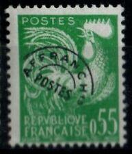 Préoblitéré : COQ n°122, Neuf * = Cote 30 € / Lot Timbre France