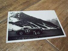 Photo / Photograph  Donald Morley AUSTIN HEALEY Coupe des Alpes 1962 //