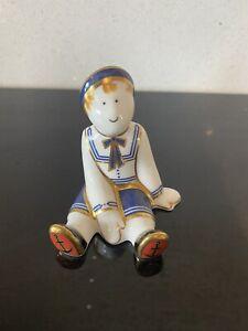 Treasures Of Childhood Ragdoll Sailor Figure Royal Crown Derby 2004 MMXIII Imari
