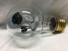 Vintage Aerolux Figural Black Rose Light Bulb