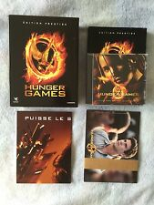 Coffret Blu Ray + DVD Hunger Games  / Édition Collector Prestige
