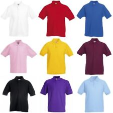 Camicia Polo Fruit of the Loom per bambini dai 2 ai 16 anni