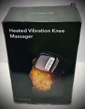 Heated And Vibration Knee Massager Brace Wrap, Hailicare 3 In 1 Rechargeable Ele