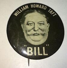 """Vintage American Fantasy William """"Bill"""" Taft Political Pinback! NY Art Fair 1967"""