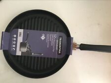 TRAMONTINA Gourmet Hard Anodized 12-in Round Grill Pan 80121/519
