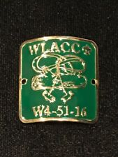 BSA Western Los Angeles County Council Wood Badge Hiking Staff Medallion