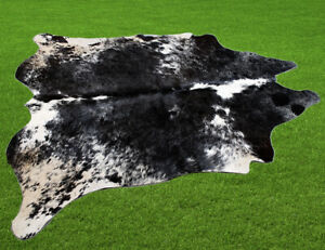 """100% New Cowhide Rugs Area Cow Skin Leather (61"""" x 65"""") Cow hide SA-7006"""