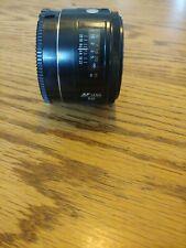 Minolta AF 50mm F1.7 Maxxum Lens sony alpha mount