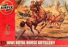 "Soldatini 1/72 ""WWI ROYAL HORSE ARTILERY"" -  AIRFIX (1731)"