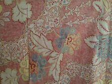 1 Pottery Barn Florentine Red Blue Floral Palampore Pillow Sham ~ Euro