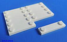 LEGO® Nr-4597131 / 1x2 Fliesen Platte mit 2 Noppen weiß / 10 Stück