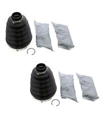 Pair Set of 2 Front Outer GKN CV Joint Boot Kits for Mercedes-Benz W164 W251