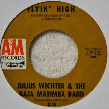 Baja Marimba Band Julius Wechter Flyin High Latin Jazz w/Voices NICE NM 45 #A